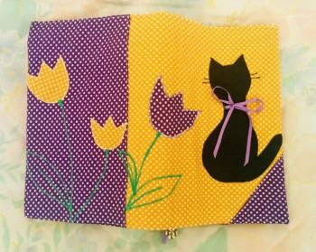 Подвързия за книга Котка 1