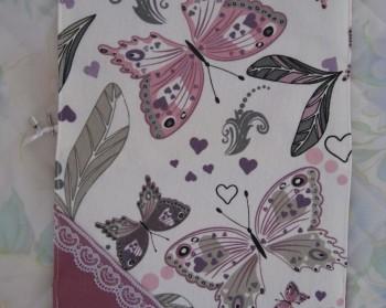 Подвързия за книга, твърда, Пеперуди 1